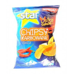 Star Chips karbowane chili 130 g