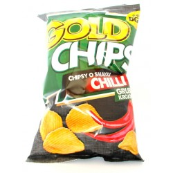 Gold chips o smaku chili 140 g