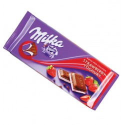 Milka Tabliczka Strawberry Yoghurt