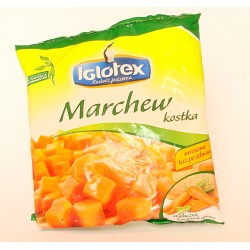 Marchew kostka 450 g Iglotex